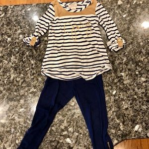 Juicy Couture long sleeve top and pants